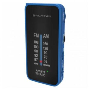 Rádio Portátil BRIGMTON BT224 Azul