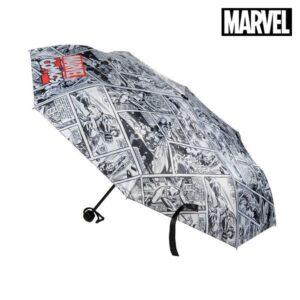 Guarda-chuva Dobrável The Avengers Cinzento (ø 53 cm)