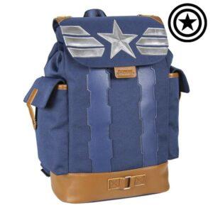 Mochila Casual The Avengers Azul