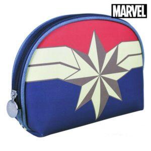 Nécessaire Escolar Captain Marvel Azul marinho