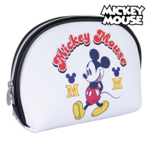Nécessaire Escolar Mickey Mouse Branco