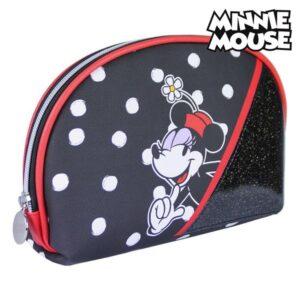 Nécessaire Escolar Minnie Mouse Preto