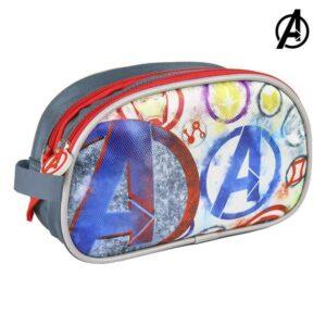 Nécessaire Escolar The Avengers Cinzento