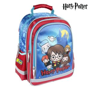 Mochila Escolar Harry Potter Azul