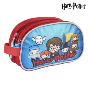 Nécessaire Escolar Harry Potter Azul