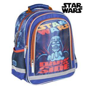 Mochila Escolar Star Wars Azul
