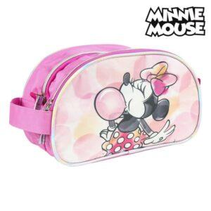 Nécessaire Escolar Minnie Mouse Cor de rosa