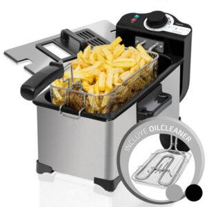 Fritadeira Cecotec Cleanfry 3 L 2000W Prateado - VEJA O VIDEO