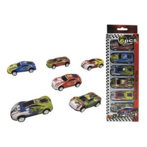 Playset de Veículos Racing (6 pcs)