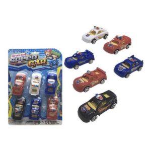 Playset de Veículos Speed Car (6 pcs)