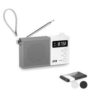 Rádio Transistor SPC Jetty Max 4578B AM/FM Branco
