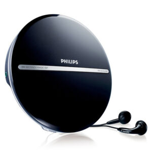 Discman MP3 Philips EXP2546/12 LCD (3.5 mm) Preto