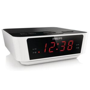 Rádio-Relógio Philips AJ3115/12 LED FM 1W Branco