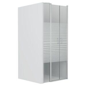 Portas de duche ESG semiopaco 100x185 cm - PORTES GRÁTIS
