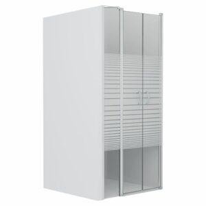Portas de duche ESG semiopaco 120x185 cm - PORTES GRÁTIS