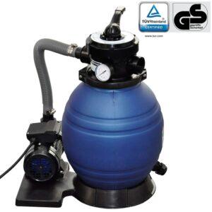 Bomba de filtro de areia 400 W 11000 l/h - PORTES GRÁTIS
