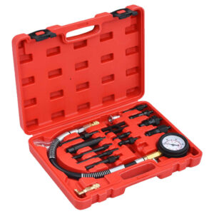 Kit de teste medidor de compressão para motor diesel 14 pcs - PORTES GRÁTIS