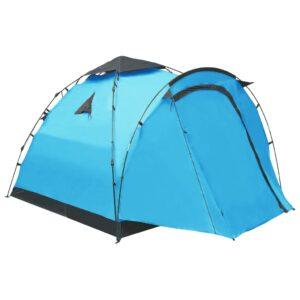 Tenda de campismo pop-up 3 pessoas azul - PORTES GRÁTIS