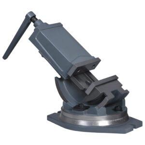 Torno de bancada inclinável de 2 eixos 160 mm - PORTES GRÁTIS