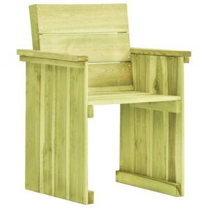 Cadeira de jardim madeira de pinho impregnada - PORTES GRÁTIS