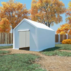 Tenda de arrumação PE 3x6 m branco - PORTES GRÁTIS