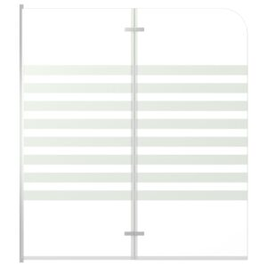 Cabine de duche 120x140 vidro temperado às riscas - PORTES GRÁTIS