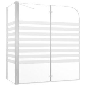 Cabine de duche riscas vidro temperado 120x68x130 cm - PORTES GRÁTIS