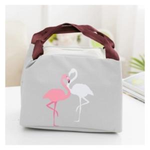 Bolsa Térmica Flamingos - Transporte Alimentos em Segurança , Independentemente da Temperatura Ambiente