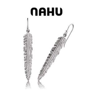 Brincos Prata Nahu® Nae - Tilia