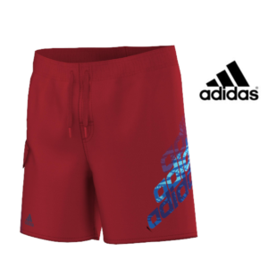 Adidas® Calções de Praia Júnior Red Logo