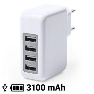 Carregador USB  Parede 3100 mAh 145162 Branco
