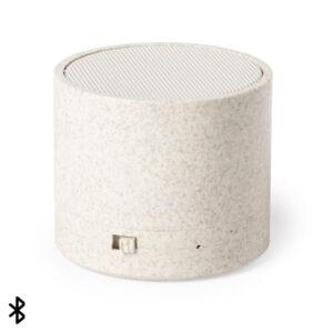 Altifalante Bluetooth 3W 146540 Cana de trigo Abs Natural