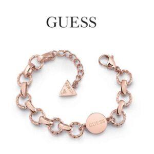 Guess® Pulseira UBB29034-L | Rose Gold