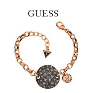 Guess® Pulseira UBB70239 | Rose Gold e Preto