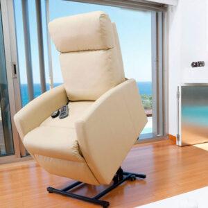 Poltrona de Repouso com Elevação e Massagem Cecotec Compact - PORTES GRÁTIS