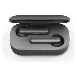 Auriculares Bluetooth com microfone Energy Sistem Style 3 400 mAh Cinzento