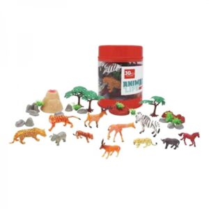 Conjunto 30 Animais Selvagens