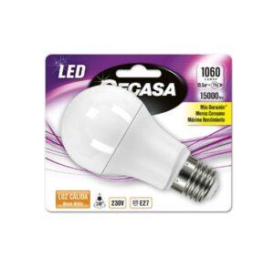 Lâmpada LED esférica Cegasa E27 10,5W A+