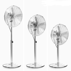 Ventilador de Pé Chrome Retro Ø 40 cm 55W - VEJA O VIDEO