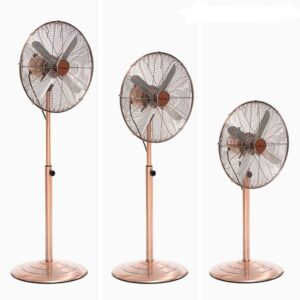 Ventilador de Pé Copper Retro Ø 40 cm 55W - VEJA O VIDEO