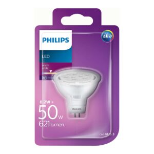 Philips - Lâmpada LED GU5.3 8,2 W - 50 W