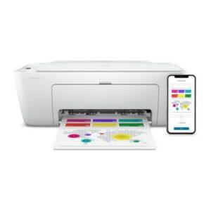 Impressora multifunções HP Deskjet 2720 7.5 ppm WiFi Branco