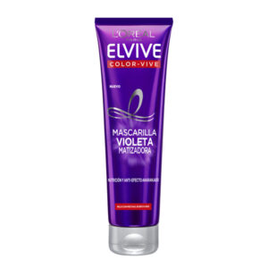 Máscara Matizadora Elvive Color-vive Violeta L'Oreal Make Up (150 ml)