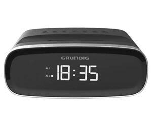 Rádio Despertador Grundig SCN 120 LED AM/FM 1W Preto