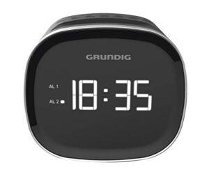 Rádio Despertador Grundig SCN 230 LED AM/FM 1,5 W Preto