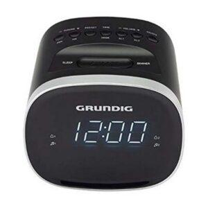 Rádio Despertador Grundig SCC-240 LED USB 2.0 1,5W Preto