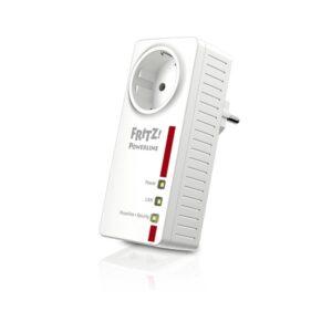 Adaptador PLC Fritz! 1220E LAN 1200 Mbps Branco