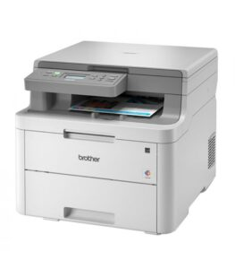 Impressora multifunções Brother DCP-L3510CDW WIFI 512 MB