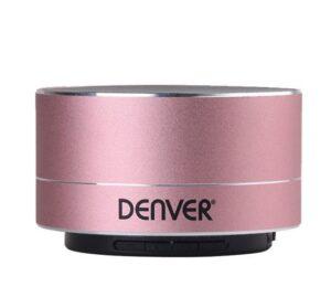 Altifalante Bluetooth Denver Electronics BTS-32 400 mAh 3W Cor de Rosa