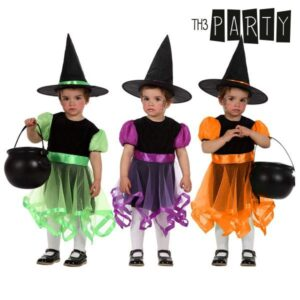 Fantasia para Bebés Th3 Party Bruxa 0-6 Meses